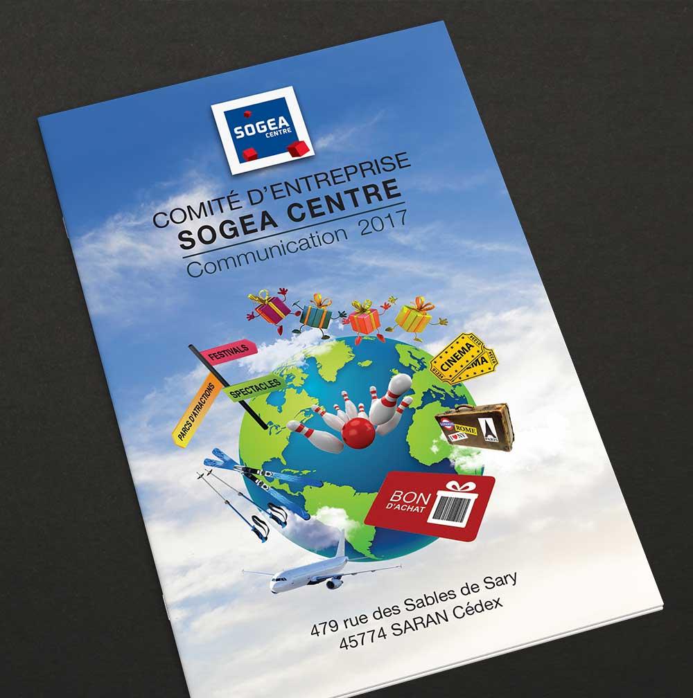 Livret de 8 pages au format A6, pour Comité d'Entreprise