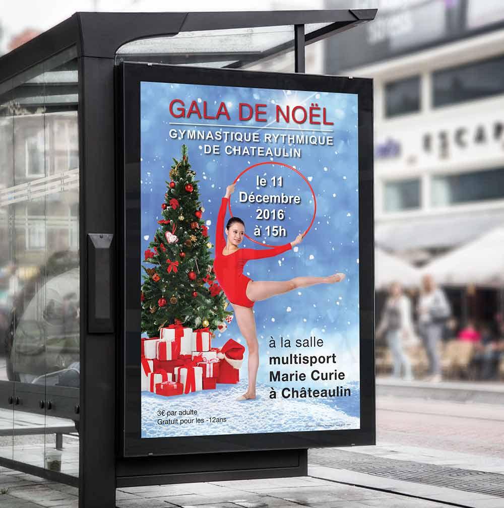 Affiche Association Gala de gymnastique rythmique