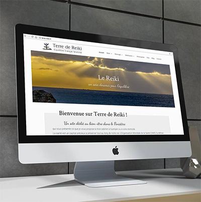 Dezz.fr : Réalisation de site web et blog : Reiki, Massage et Méditation