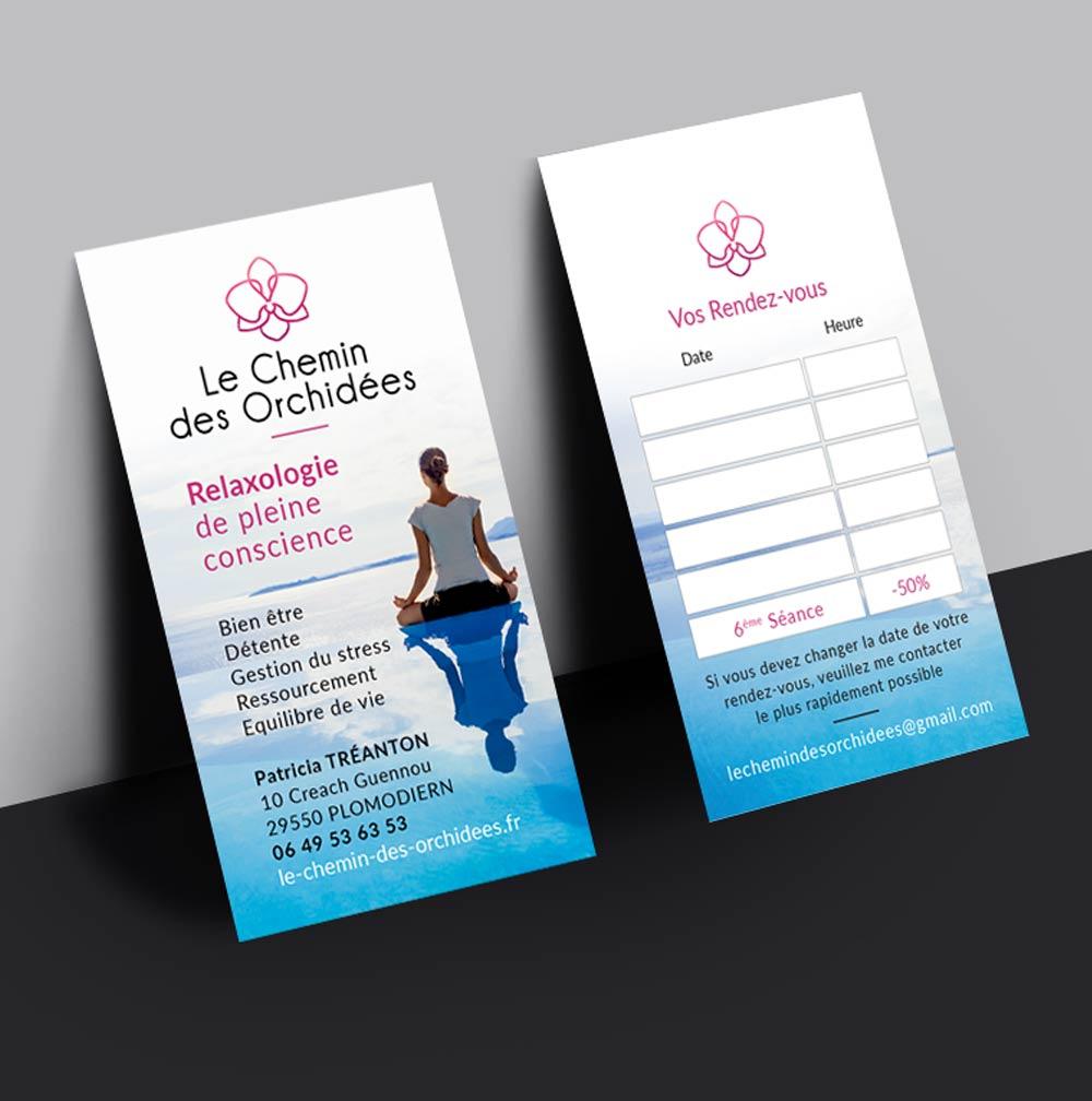 Création d'un logo et d'une carte de visite