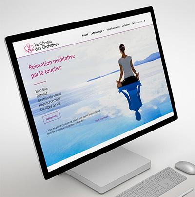 Dezz.fr : Réalisation de site web et blog : Relaxologie de pleine conscience