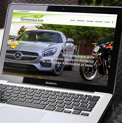 Dezz.fr : Réalisation de site web et blog : spécialisée dans le nettoyage et la rénovation esthétique Automobile et Moto