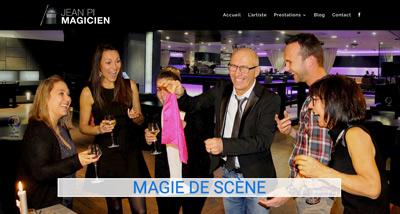 Dezz.fr : Réalisation de site web et blog : Magicien Professionnel